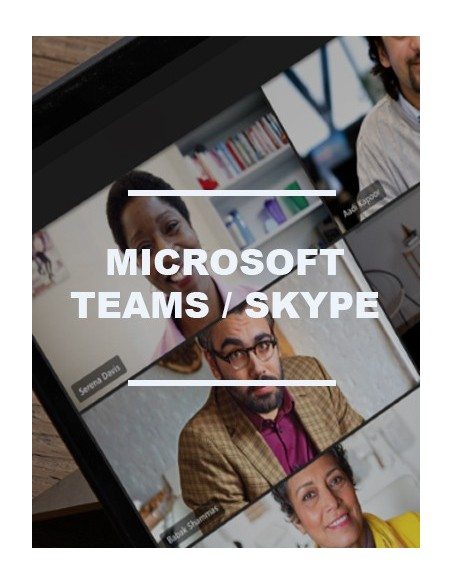 Visioconférence Microsoft Skype / Teams